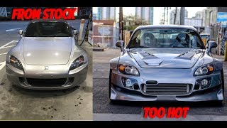 BUILDING MY S2000 IN 10 MINUTES *FULL TRANSFORMATION*