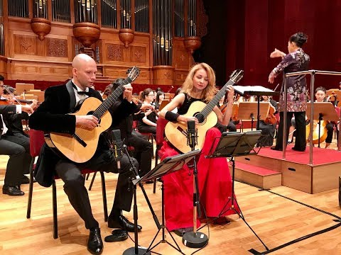 Kupiński Guitar Duo Plays Concierto Madrigal By J.Rodrigo(TIGF2018)