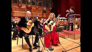 Kupiński guitar duo plays concierto madrigal by j.rodrigo(tigf2018) mp3