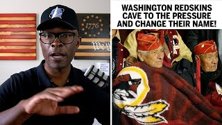 Washington Redskins CAVE And Announce Name Change!