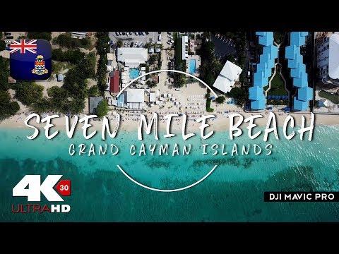 Seven Mile Beach | Grand Cayman islands 🇰🇾 | Mavic Pro Drone 4K