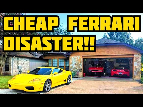 FIXING our Ferrari 360's BROKEN Fuel PUMPS (Its an absolute Disaster!)