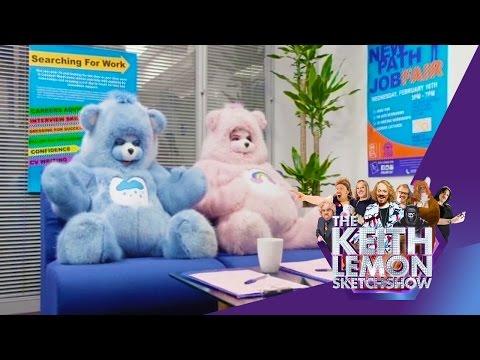 Care Bears | The Cartoon Job Centre | The Keith Lemon Sketch Show Series 2 Episode 5