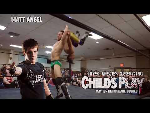 Matt Angel makes his debut at CHILD'S PLAY!