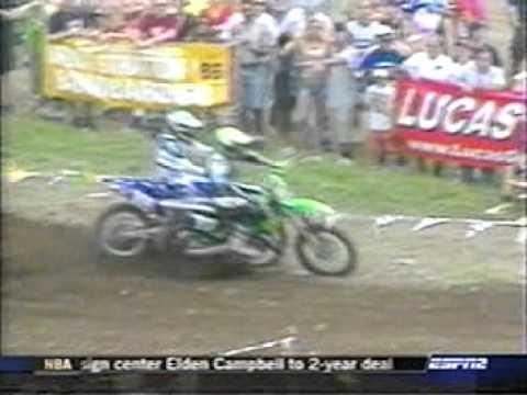 2003 Unadilla 125cc Moto 1 (James Stewart's Most Difficult Moto Win)