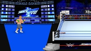 John Cena Vs Triple H (SmackDown 2017) WR2D MOD by MDickie Game Mods