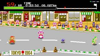 Mario & Sonic at the Olympic Games Tokyo 2020 SWITCH Gameplay Tokyo 1964 Marathon Mario