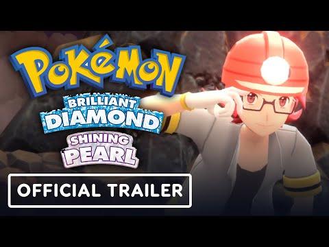 Pokemon Brilliant Diamond \u0026 Shining Pearl - Official Trailer #2