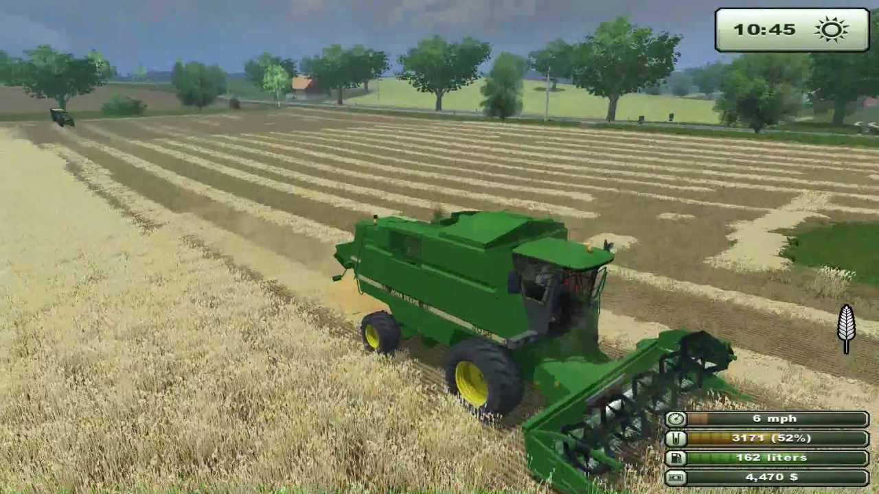 Ls 2013 Farming Simulator John Deere 8r Wheat Harvest 2013 Farming Simulator 2013