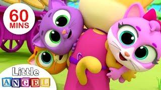 Three Little Kittens | Humpty Dumpty | Nursery Rhymes & Kids Songs by Little Angel