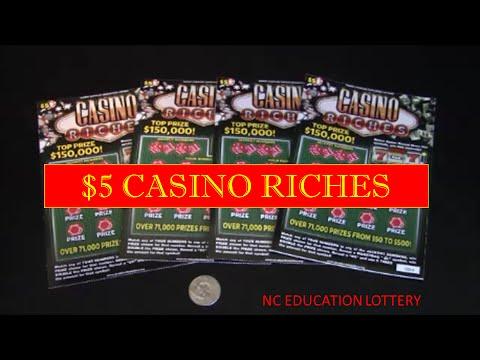 $5 CASINO RICHES FROM NC EDUCATION LOTTERY