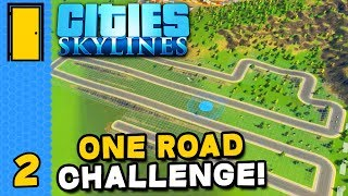 Lonesome Road | Cities: Skylines One Road Challenge - Part 2