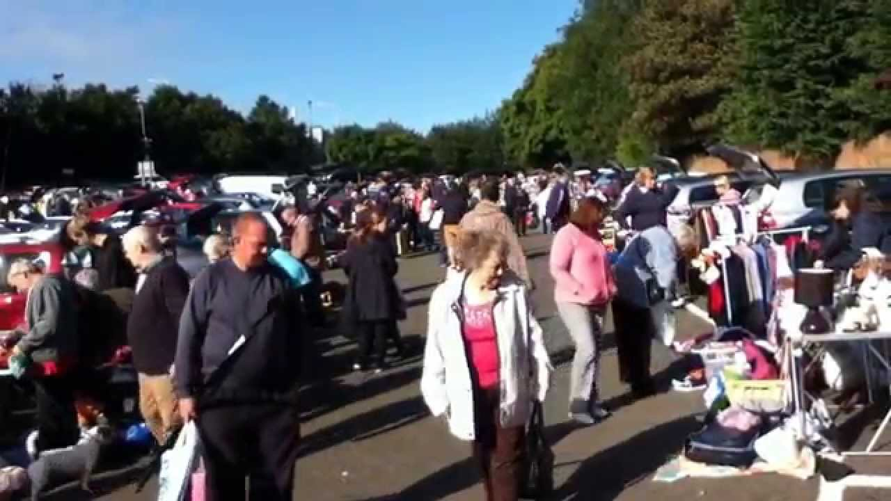 Inverkeithing Car Boot Sale August 2014