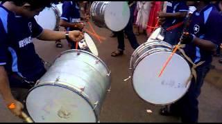 nasik dhol with monsoon beats thammanam.