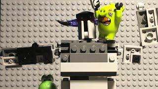 """""""Slappy- Go Lucky"""" Lego Angry Birds TOONS."""