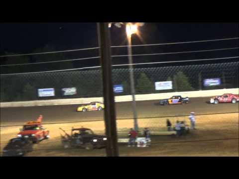 Doe Run Raceway Mini Stock Feature Josh Jarrett Memorial  8-21-15