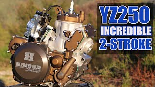 Incredible 2-stroke engine build - YZ250 build