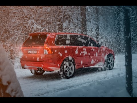 Exclusive Volvo XC90 V8 individually bodykit Heico from Moscow (by) ok.movies