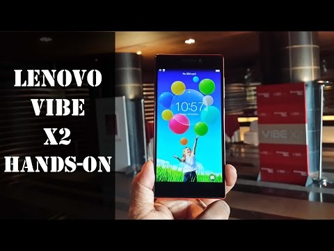 Lenovo Vibe X2 Hands-on Review: First Look