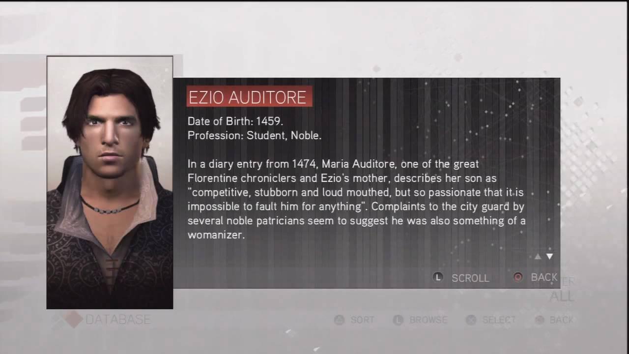 ezio auditore dating site