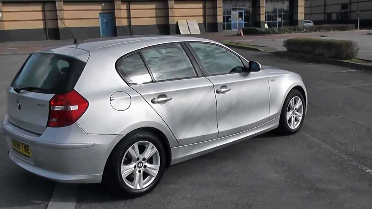bmw 1 series 116 se 1 6 manual silver sd58twe wessex garages newport youtube. Black Bedroom Furniture Sets. Home Design Ideas