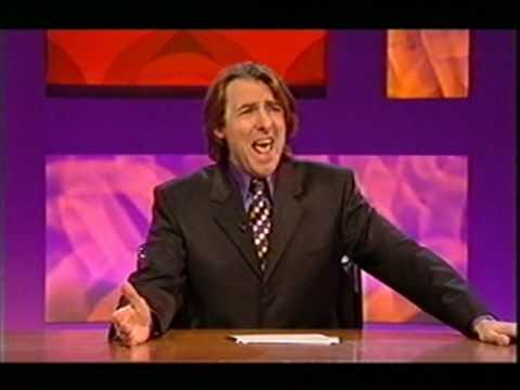 Generation Jones humor on UK's top comedy talk show