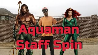 Aquaman Staff Spin | How To Martial Arts