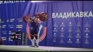 2016 Russian National Weightlifting +105 kg C+Jerk