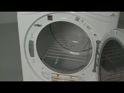 Electric Dryer Drying Rack Installation (Model #WED85HEFW0)