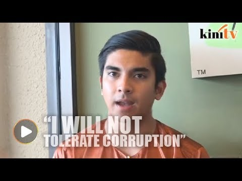 Syed Saddiq: No witch hunt