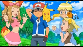 Ash and Serena~ HEY SERENA!~ Amourshipping