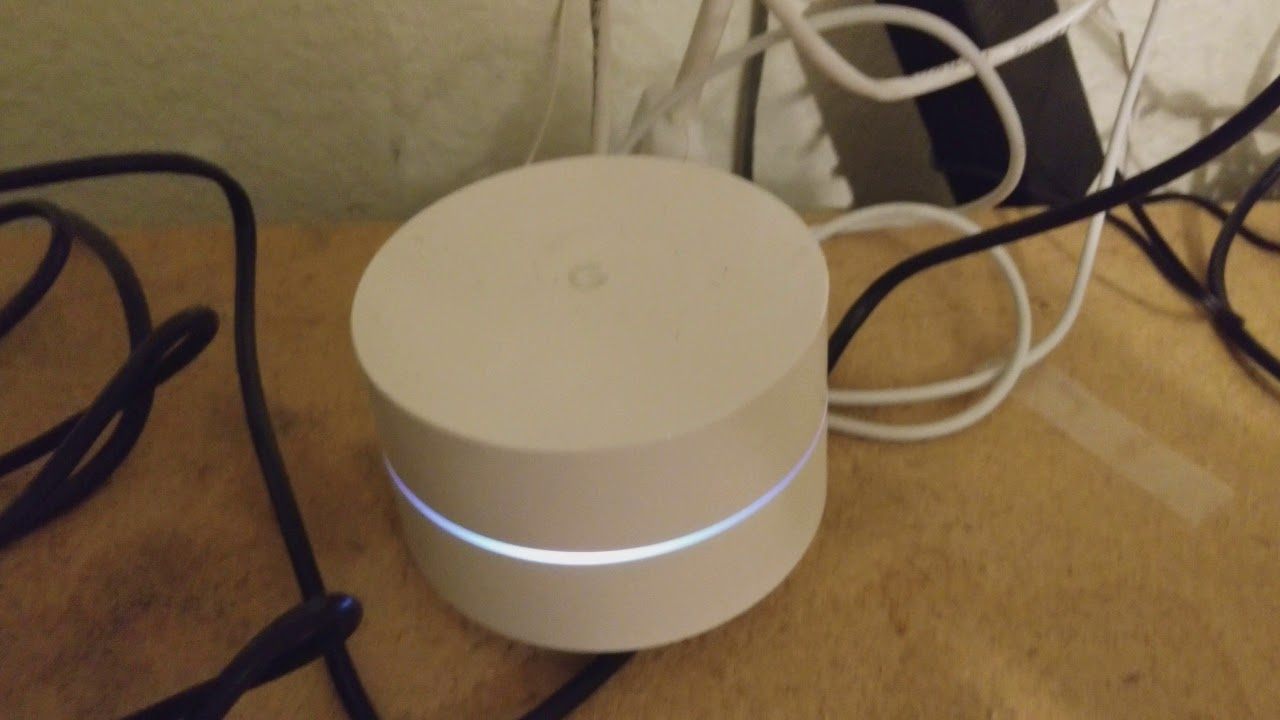 Google Wifi Wired Connection