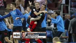 FOX Sports' Rob Stone on Croatia's World Cup Chances Against France | The Dan Patrick Show | 7/13/18