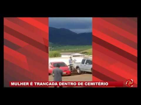 Mulher é trancada dentro de cemitério em Campos Gerais