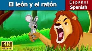 El león y el ratón | Cuentos para dormir | Cuentos Infantiles | Cuentos De Hadas Españoles