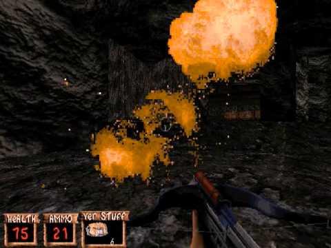 Redneck Rampage - Downtown 13 Uranium Mines - All Secrets