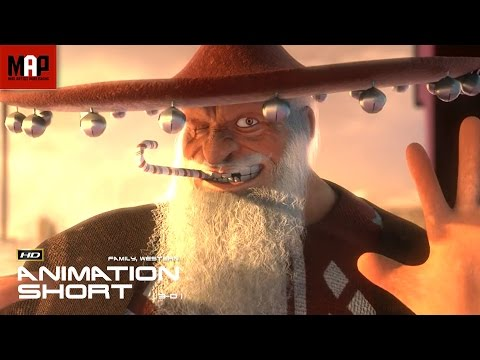 "CGI 3D Animated Short Film ""A FISTFUL OF PRESENTS""- Surprising Animation by Cole Clark & Ringling"