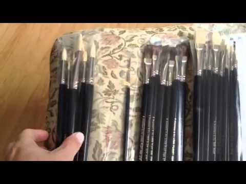 Rosemary And Company Paint Brushes