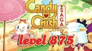 Candy Crush Saga Level 875 - ★★★