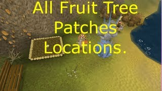 All fruit Tree Patches locations