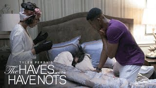 Veronica Reacts to Melissa's Suicide Attempt   Tyler Perry's The Haves and the Have Nots   OWN