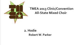 tmea all state mixed choir 2013 hodie