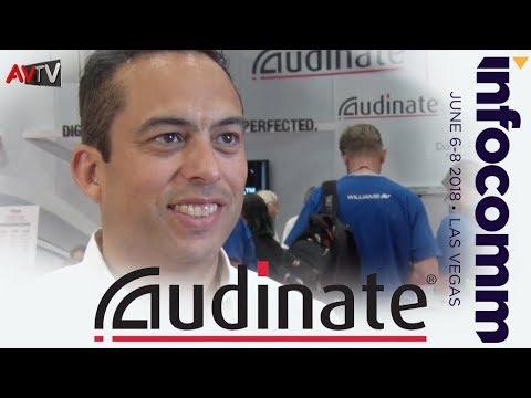 Dante AVIO Adapters and Dante Domain Manager showcased at