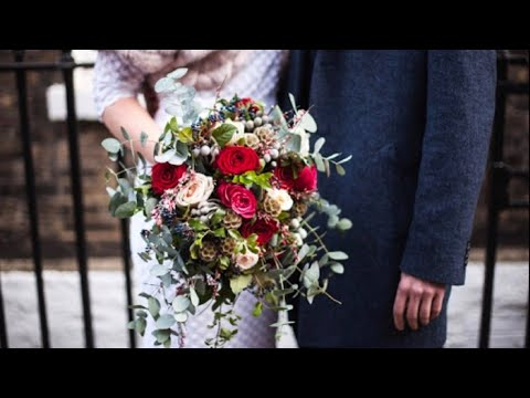 Wedding Flowers Bouquet And Very nice Flowers arrangement With Quotes