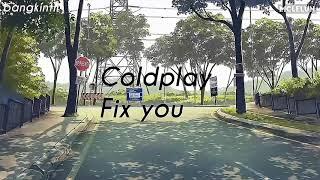 Gambar cover Coldplay - Fix You ( Lyrics)