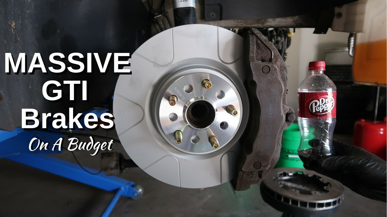 Mk5 Gti Brake Upgrade Mive Cayenne Calipers