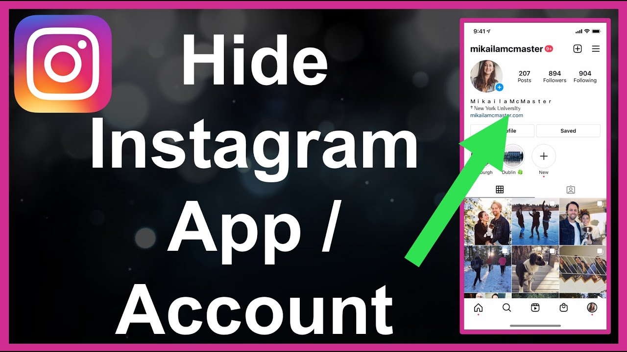 How To Hide Instagram App / Account (SNEAKY!)