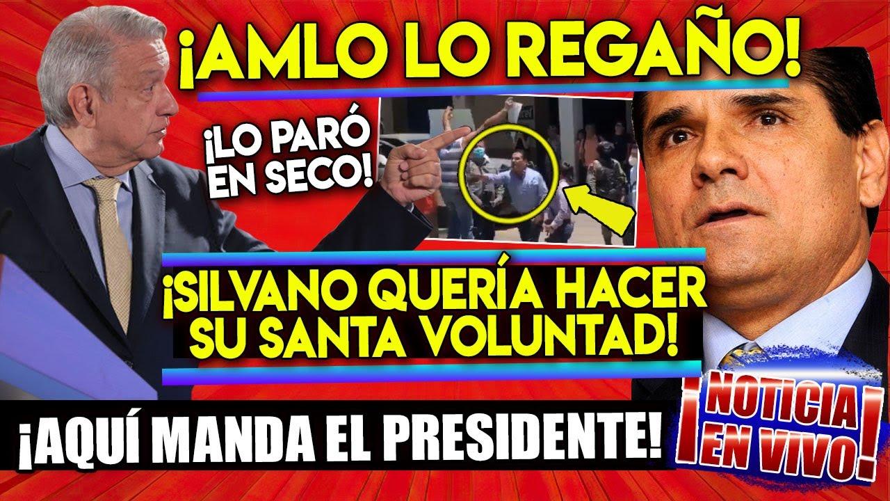 ¡DE ÚLTIMO MOMENTO! AMLO LE DA TREMENDO REGAÑON AL GOBERNADOR SILVANO AUREOLES ¡NO TE LO PIERDAS!