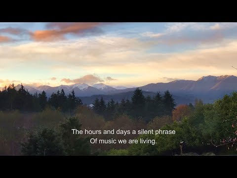 Thanksgiving - Time Lapse of Olympic Mountains Sunrise