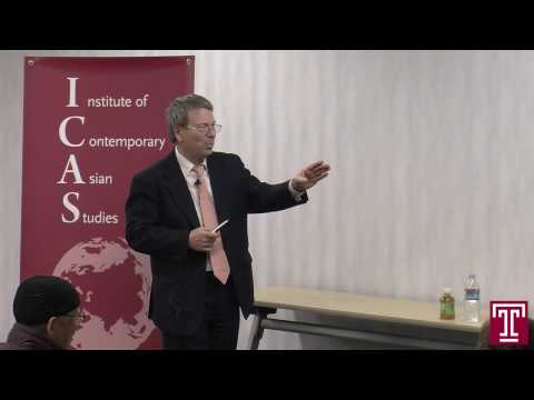 Public Lecture Video (1.30.17) Reinhard Drifte: Japan, China, and the South China Sea